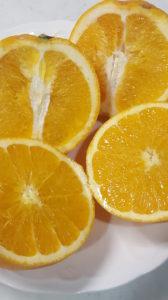 ネーブルオレンジのカット