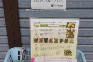 果実の宅配送り状
